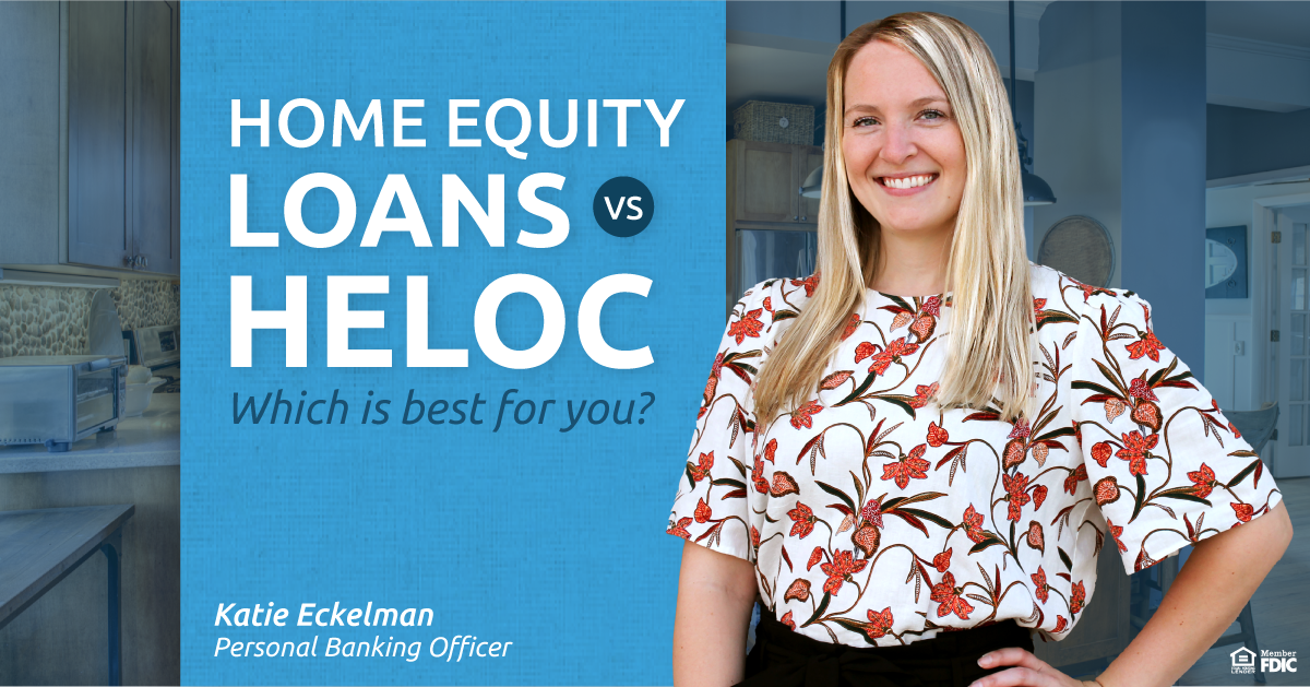 Find out whether a Home Equity Loans or a Home Equity Line of Credit is better for your unique situation!